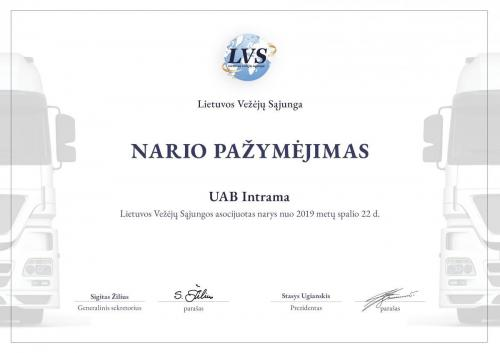 Member certificate